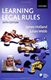 img - for Learning Legal Rules: A Student's Guide to Legal Method and Reasoning book / textbook / text book