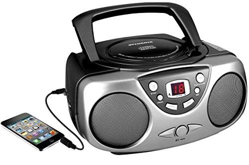 sylvania-srcd243m-black-portable-cd-radio