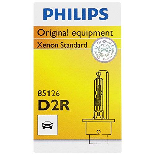 Philips D2R Standard Xenon HID Headlight Bulb, 1 Pack (1999 E320 Mercedes Bulb compare prices)