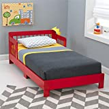 KidKraft Toddler Houston Bed, Red