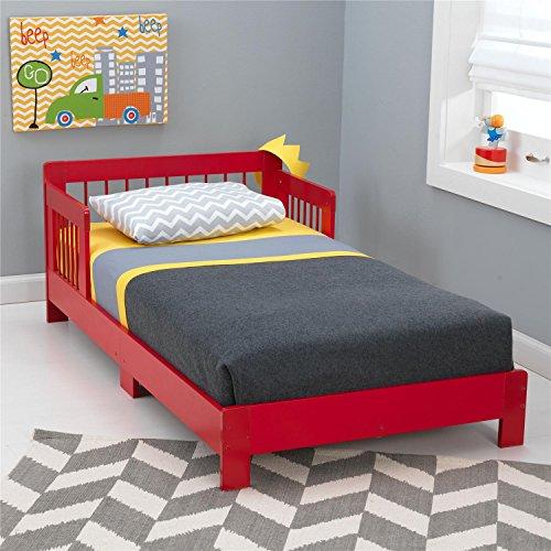 Kidkraft Toddler Houston Bed, Red front-42774