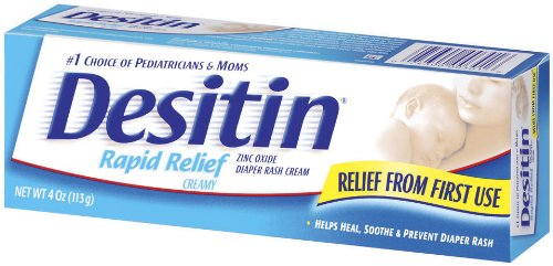 Desitin Rapid Relief Creamy, 4 Ounce