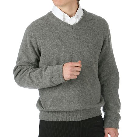 Buy Toscano V-Neck Lambswool Sweater