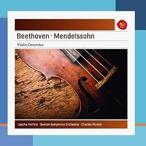Beethoven, Mendelssohn : Concerto pour violon