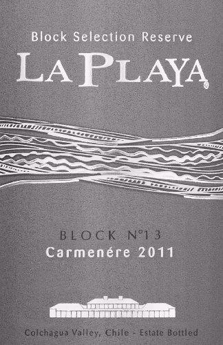 La Playa Carmenere Block Selection Reserve 2011 750Ml