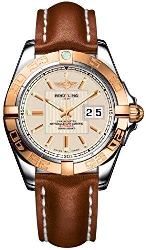 breitling-breitling-galactic-41-hommes-de-montre-automatique-avec-cadran-argente-affichage-analogiqu