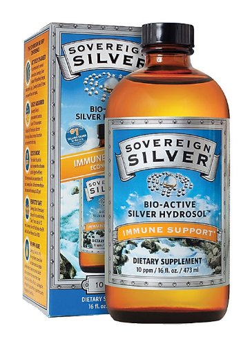 Natural Immunogenics - Silver Hydrosol 16oz Liq, 16 oz liquid