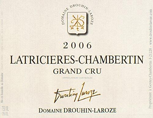 2006 Drouhin-Laroze - Latricieres Chambertin Grand Cru Burgundy 750 Ml