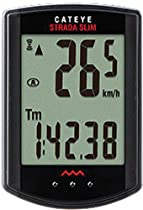 Cateye CC-RD310W Strada Slim Cycling Computer Black