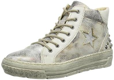 Rieker  98110 Damen Stiefel, Silber (metallic), EU 40