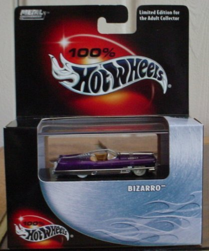 2003 Hot Wheels 100% Collectible Bizarro #10 1:64 Scale Collectible Die Cast Car - 1