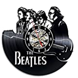 Marchandises Enfants Beste Deals - The Beatles Art Wanduhr Vinyl Wand Zimmer Geschenk modern Home Registrierung Dekoration Vintage
