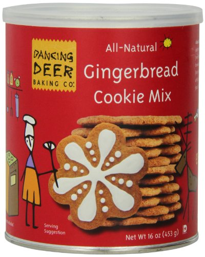 Dancing Deer Baking Mix, Gingerbread Cookie Mix, 16 Ounce