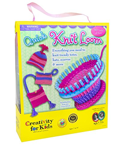 Creativity for Kids Quick Knit Loom - Teaches Beneficial Skills and Creativity - Easy to Use - For Ages 7 and Up (Art Craft & Sewing compare prices)