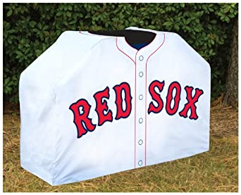 Buy Team Sports America MLB0150-707 Boston Red Sox Grill Cover by Team Sports America