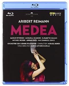 Aribert Reimann Medea Live From The Wiener Staatsoper 2010 Blu-ray 2011 by Arthaus Musik