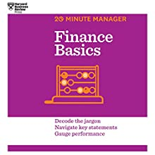 Finance Basics Audiobook by  Harvard Business Review Narrated by James Edward Thomas