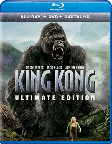 Blu-ray : King Kong (Ultimate Edition) (With DVD, Ultraviolet Digital Copy, Ultimate Edition, Digital Copy, 3 Pack)