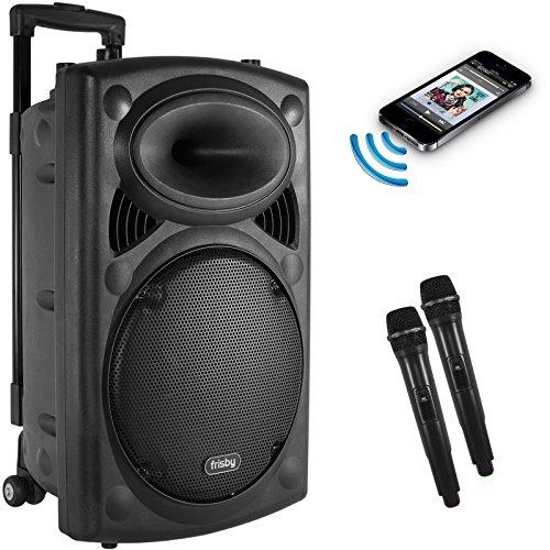 Frisby Fs 4050p Portable Rechargeable Bluetooth Karaoke