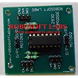 Robosoft Labs NEW DC MOTOR / STEPPER MOTOR DRIVER BOARD MODULE With L293D IC For ARM ARDUINO AVR PIC 8051 Rasberry Pi