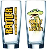 Healey's Cider Farm Cornish Rattler Cider Pint Glass