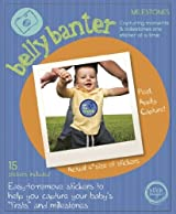 Belly Banter MILESTONES Onesie Stickers