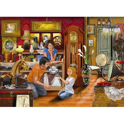 The Curiousity Shoppe 1000 Piece Puzzle