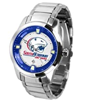 South Alabama Jaguars NCAA Mens Titan Steel Watch