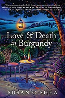 Book Cover: Love & Death in Burgundy