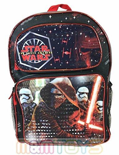 [New Star Wars The Force Awakens KYLO REN & STORMTROOPERS School 16