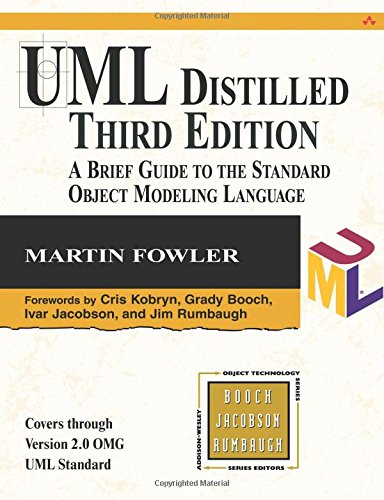 UML Distilled:A Brief Guide to the Standard Object Modeling Language (Object Technology Series)