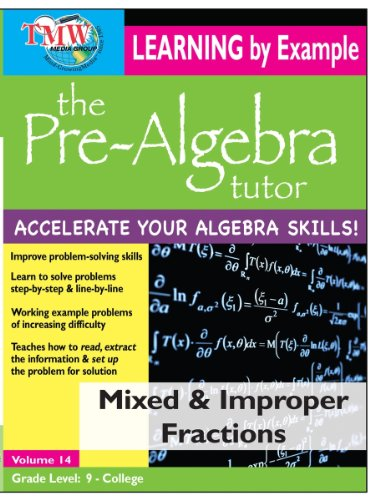 Pre-Algebra Tutor: Learning By Example - Mixed and Improper Fractions (Mixed Fraction compare prices)