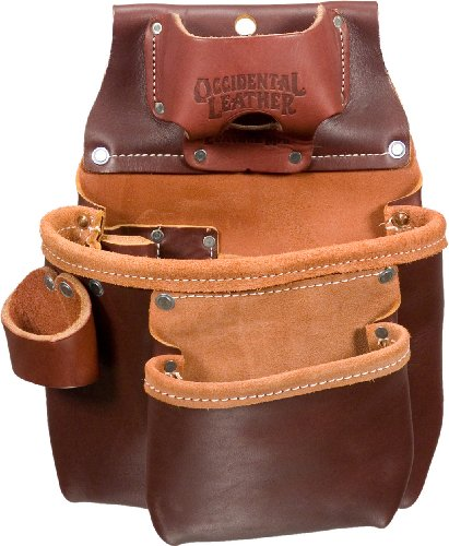 Occidental Leather 5018Lh 2 Pouch Pro Tool Bag, Left Handed
