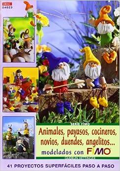ANIMALES PAYASOS COCINEROS NOVIOS DUENDES ANGELITOS