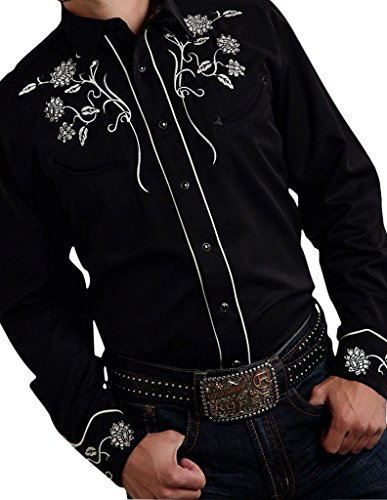 Roper 03-001-0040-0790 Mens Old West Collection- Fall III Shirt 0