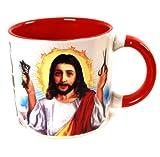 イエスのヒゲ Jesus Shaves Mug マグカップ