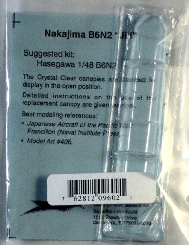 Squadron Products Nakajima B6N2 Vacuform Canopy - 1