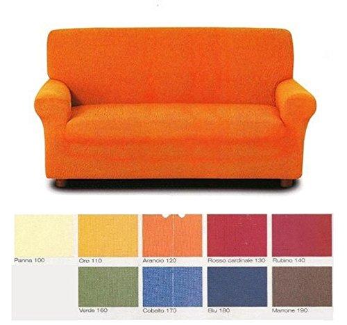 Copridivano 3 posti sofa cover in tessuto bielastico misure divano da 180 a 240 cm col foto a - Copridivano amazon ...