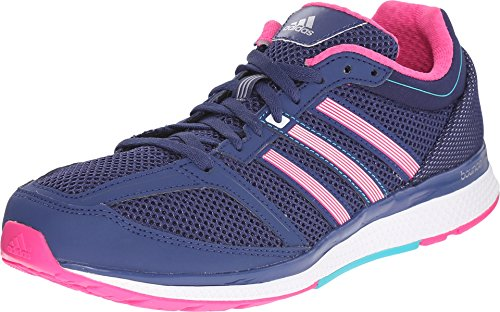 Adidas Performance Women's Mana RC Bounce Running Shoe,Raw Purple/Shock Pink/Shock Green,9.5 M US