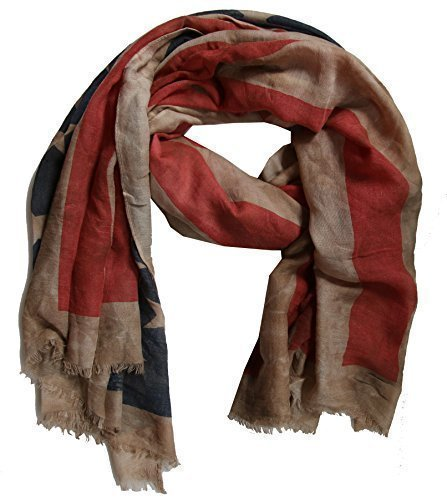 usa-batik-sciarpa-stola-america-con-stelle-beige-ca-170cm-x-80cm