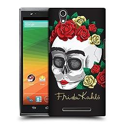 Official Frida Kahlo Skull Roses Hard Back Case for ZTE Zmax