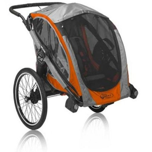 Baby Jogger Pod Chassis, Orange/Gray front-27984