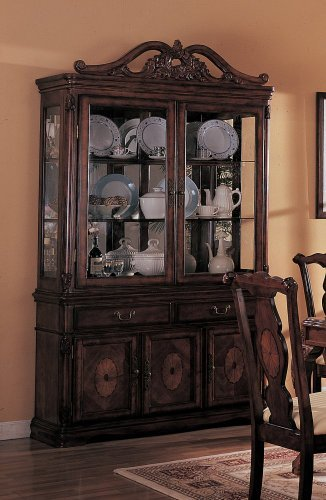 Cheap Old Elegance Buffet/Hutch by Coaster Furniture (B00408LEE4)