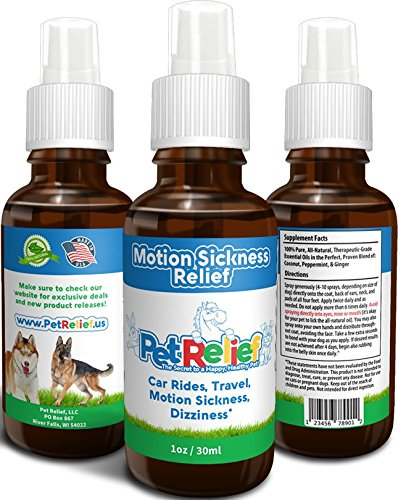 Car Sickness Dog Safe Amp Natural Motion Sickness Relief