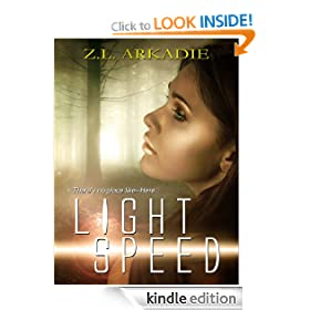 Light Speed (Parched Series, A Vampire Romance, #6)