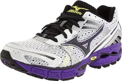 Mizuno Women's Wave Inspire 8 Running,White/Anthracite/Prism Violet,6 B US