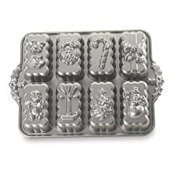 Nordic Ware Pro-Cast Holiday Mini Loaves Pan