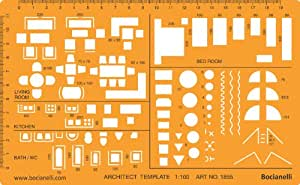 Metric 1 100 scale architectural drawing - 1 4 scale furniture for interior design ...