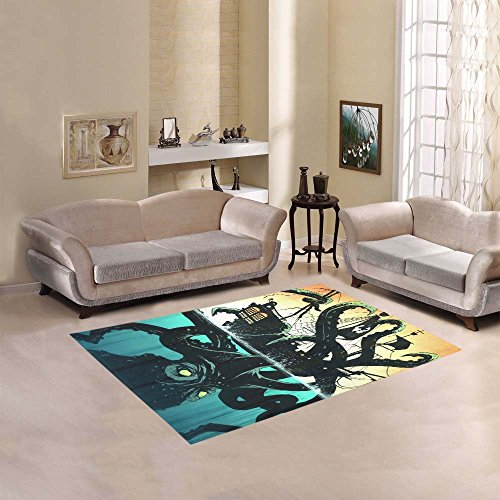 51Cb-bQ6PKL 20 Of Our Favorite Octopus Area Rugs
