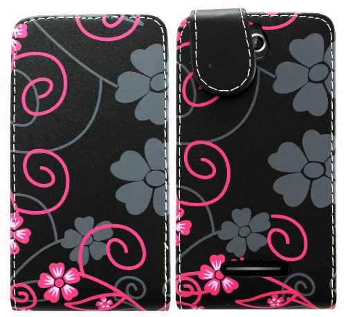 sony-xperia-e-c1505-pu-leather-magnetic-flip-case-skin-cover-pouch-screen-protector-stylus-two-flowe